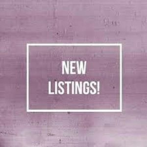New items listed!! Come check out my closet!